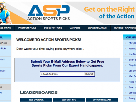 Get Free and Premium Picks From Action Sports Picks