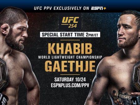 Khabib Gaethje Free Pick | UFC 254