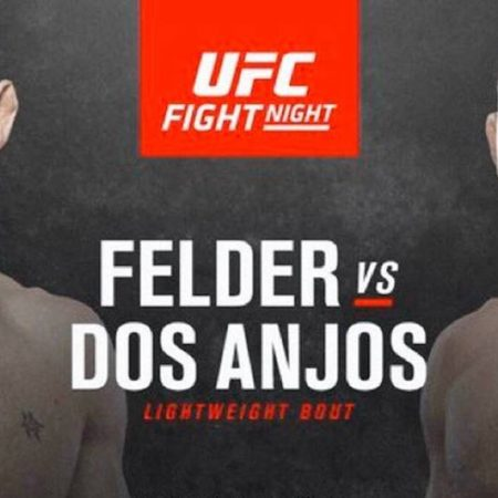 Felder Dos Anjos Pick | UFC Vegas 14