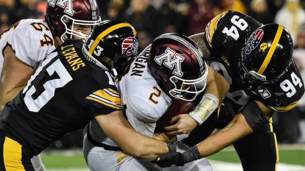 Iowa Minnesota Free Pick | NCAAF Big Ten Rivalry