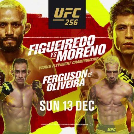 Figueiredo Moreno Free Pick | UFC 256