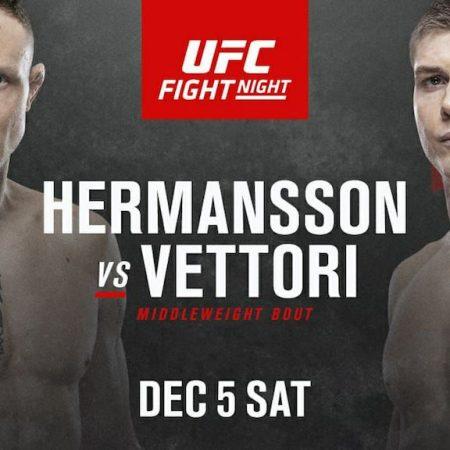 Hermansson Vettori Free Pick | UFC Vegas 16
