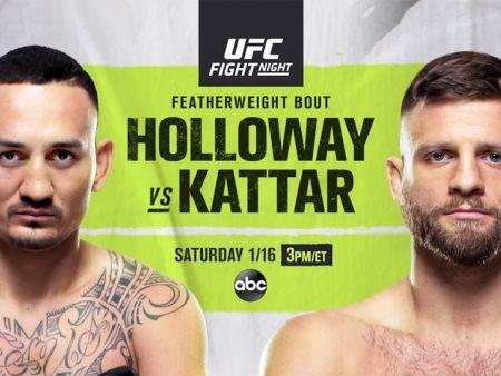 Holloway Kattar Free Pick   UFC on ABC 1