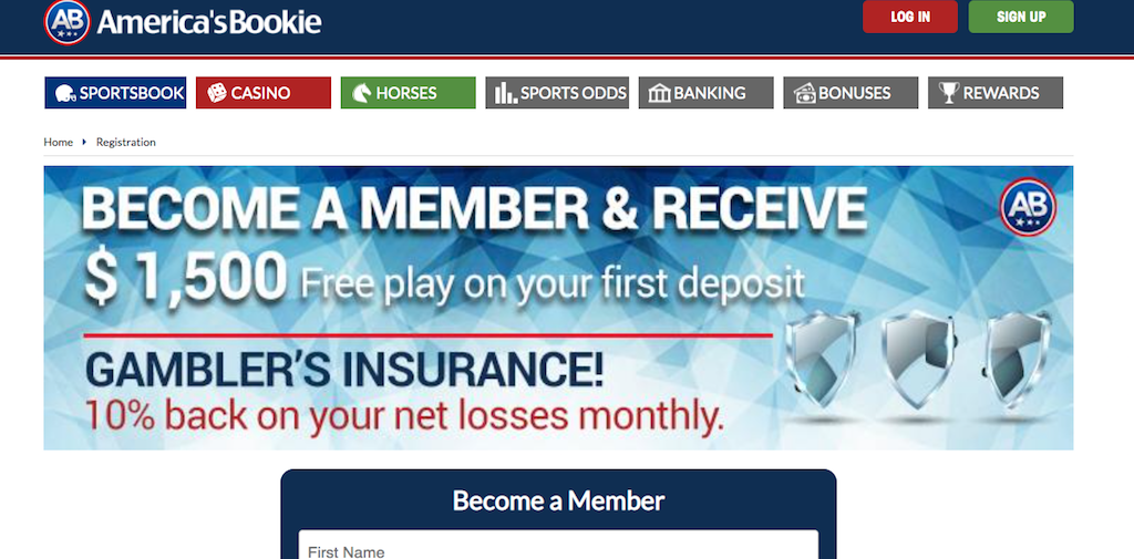 America's Bookie: The Place to Bet MLB Moneyline Parlays